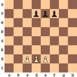 3-pawns-game