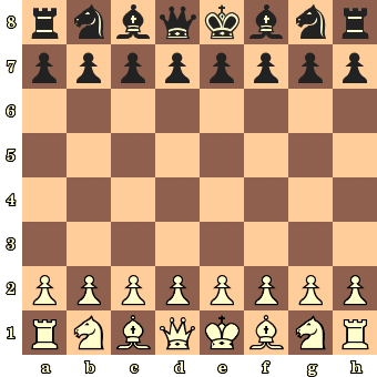 The Chessboard Basic Position Chess And Fun